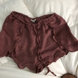 Silky urban outfitter shorts